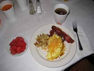Breakfast at The Plaza Suites