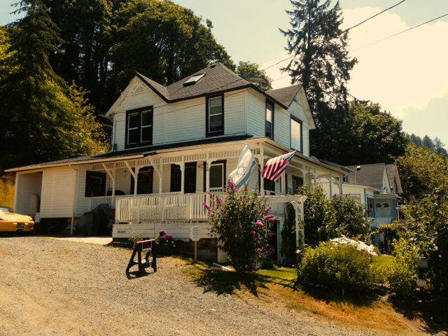 Goonies was filmed in Astoria and this is the house