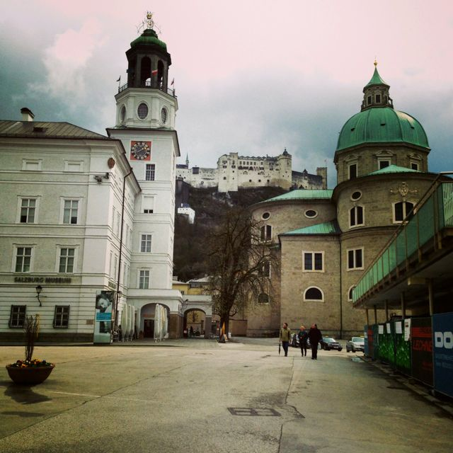 Beautiful, Salzburg Austria. No matter which way you look there is something to see.