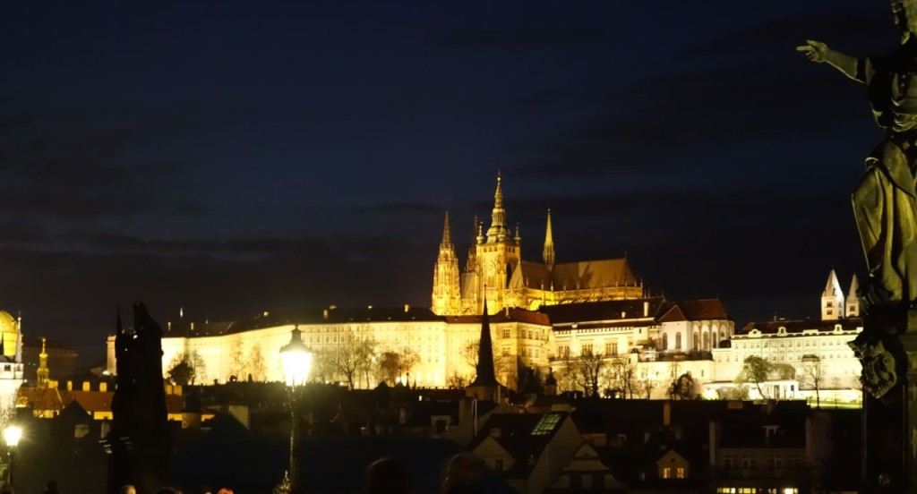 Prague is beautiful at night