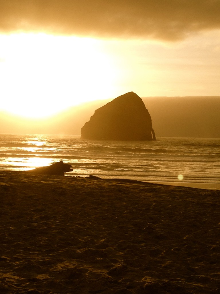 Sunset at Pacific City