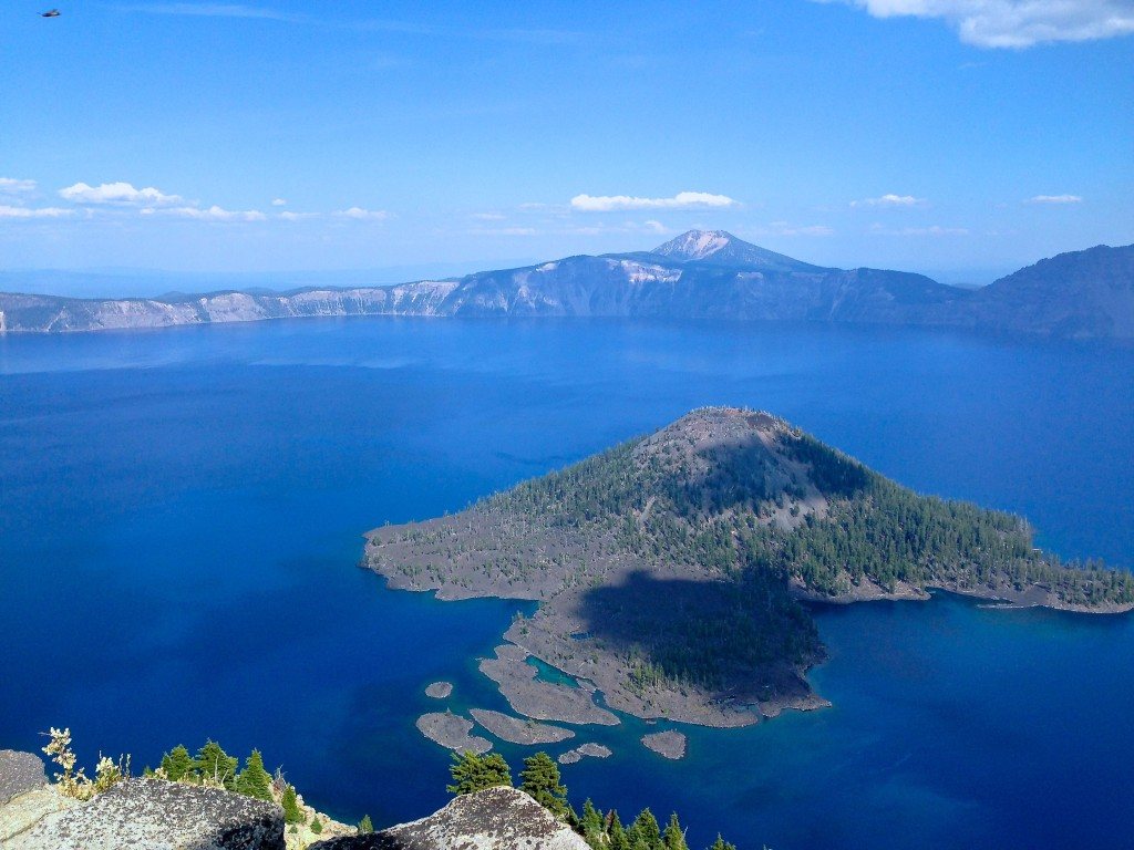 Yes! Crater Lake really is that blue