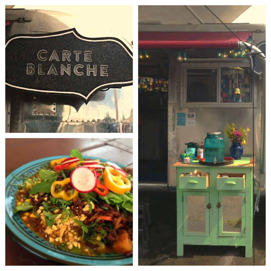 Carte Blanche. My favorite food cart in Portland.