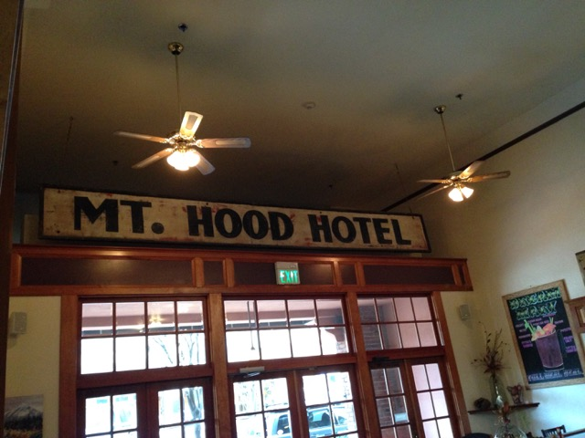 We love staying at the Historic Hood River Hotel.