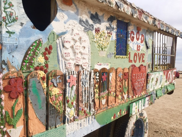 More artwork from Salvation Mountain