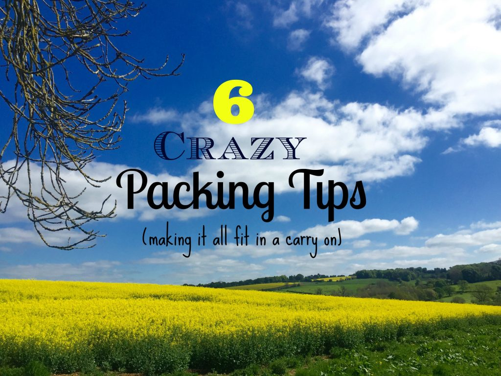 How to make it all fit in a carry on. You got this!