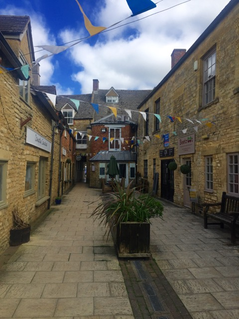 Every street in the Cotswolds calls to you.