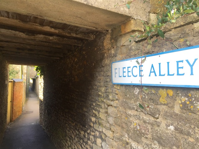 Yep, we walked down every alley too in Stow on the Wold
