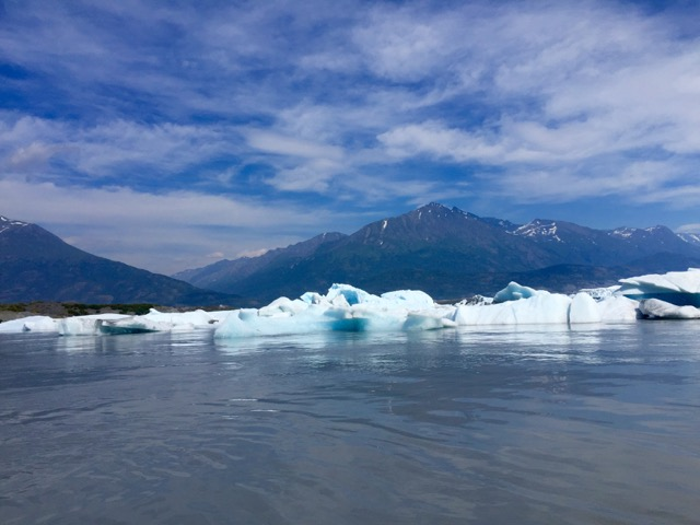 Knik Glacier was so beautiful