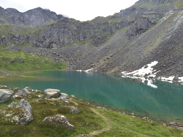 Reed Lake in Hatcher's Pass