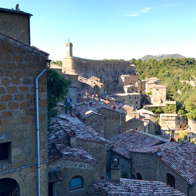 Sorano. We almost didn't get out and walk around