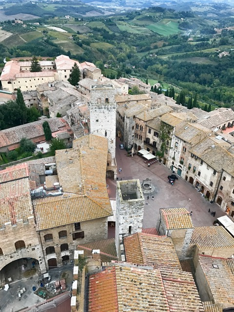 San Gimignano with all it's charm